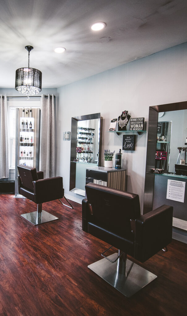 salon space - green envy salon & spa - nashua nh
